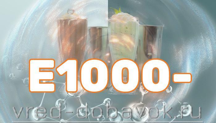 Другие добавки Е1000